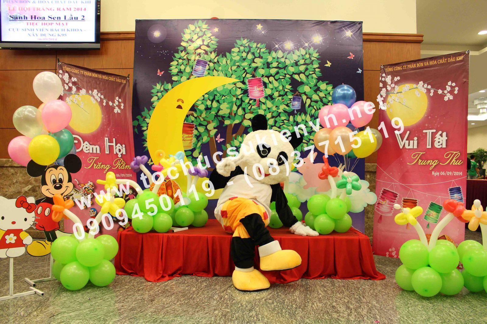 Cho thuê mascot gấu pooh, chuột micky Ngàn Thông 5