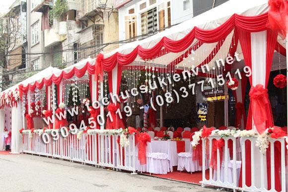 Cho thuê khung rạp đám cưới tại TpHCM và các tỉnh lân cận 3