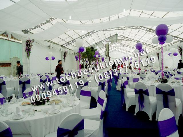 Cho thuê khung rạp đám cưới tại TpHCM  3