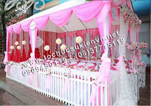 Cho thuê khung rạp đám cưới tại TpHCM  4
