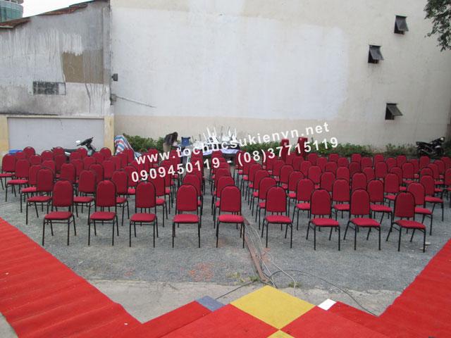 cho thuê bàn ghế sự kiện tại lễ khai trương 12