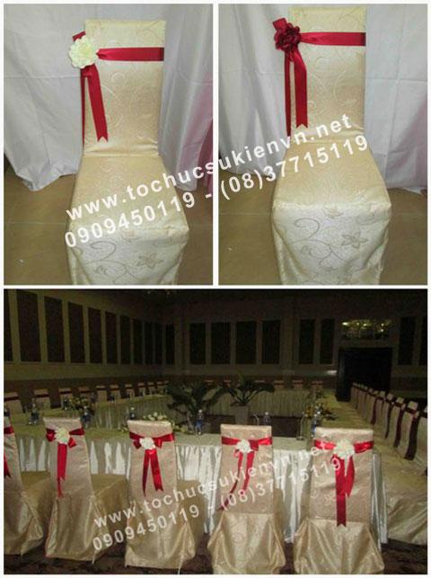 Cho thuê bàn ghế đám cưới Ngàn Thông