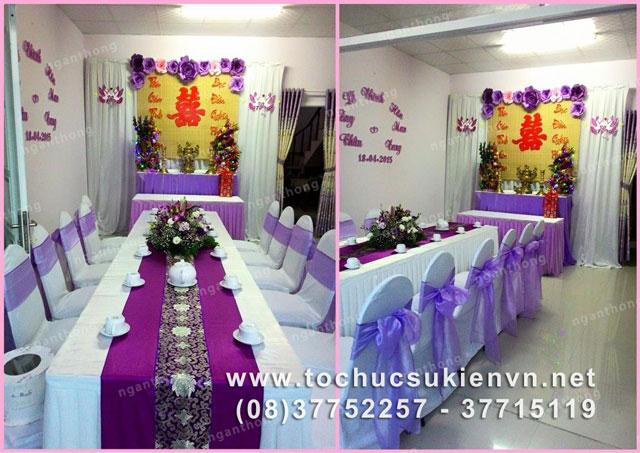 Các mẫu bàn ghế tiệc cưới HCM 3