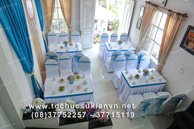 Dịch vụ cho thuê bàn ghế tiệc cưới