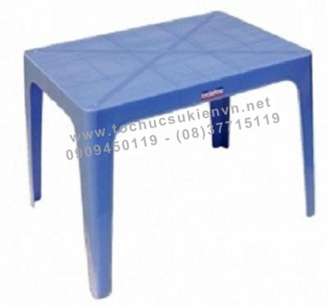 Cho thuê bàn ghế nhựa ngoài trời 7