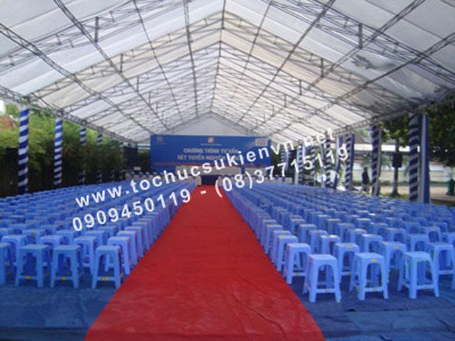 Cho thuê bàn ghế nhựa TPHCM