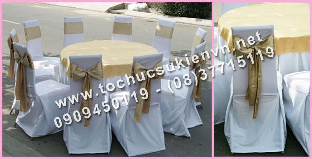 Cho thuê bàn tròn tiệc giá rẻ TPHCM 2
