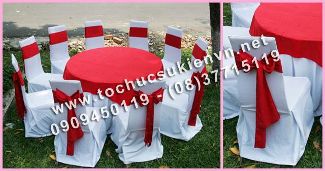 Cho thuê bàn tròn tiệc giá rẻ TPHCM 6
