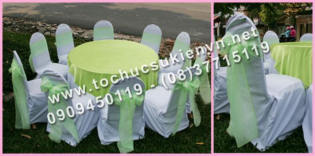 Cho thuê bàn tròn tiệc giá rẻ TPHCM 15