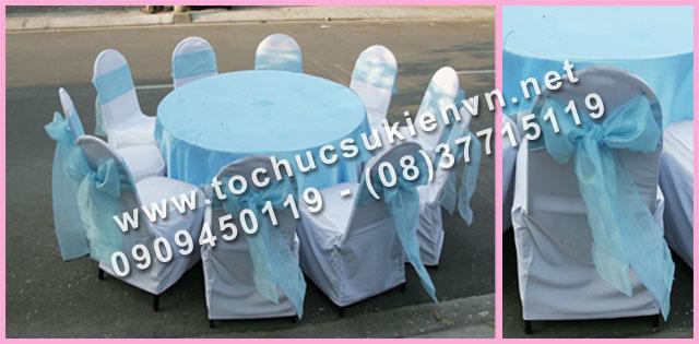 Cho thuê bàn tròn tiệc giá rẻ TPHCM 11