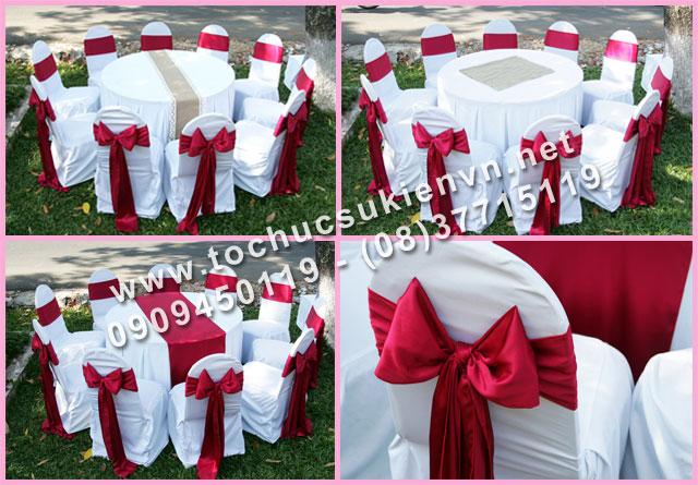 Cho thuê bàn tròn tiệc giá rẻ TPHCM 22
