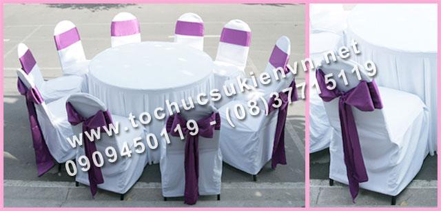 Cho thuê bàn tròn tiệc giá rẻ TPHCM 29