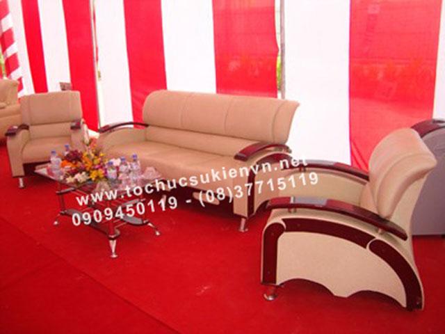 Cho thuê bàn ghế sofa HCM 3