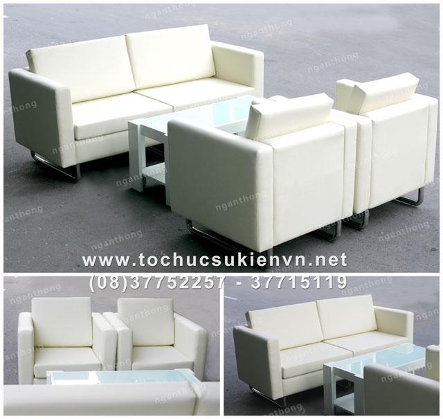 Cho thuê bàn ghế sofa cao cấp
