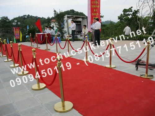 Cho thuê thảm đỏ  sự kiện TPHCM 2