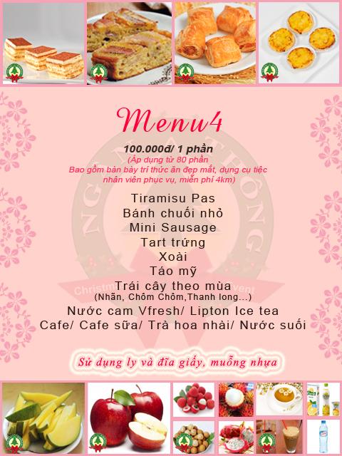 Dịch vụ tổ chức tiệc tea break 4