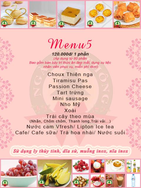 Dịch vụ tổ chức tiệc tea break 5