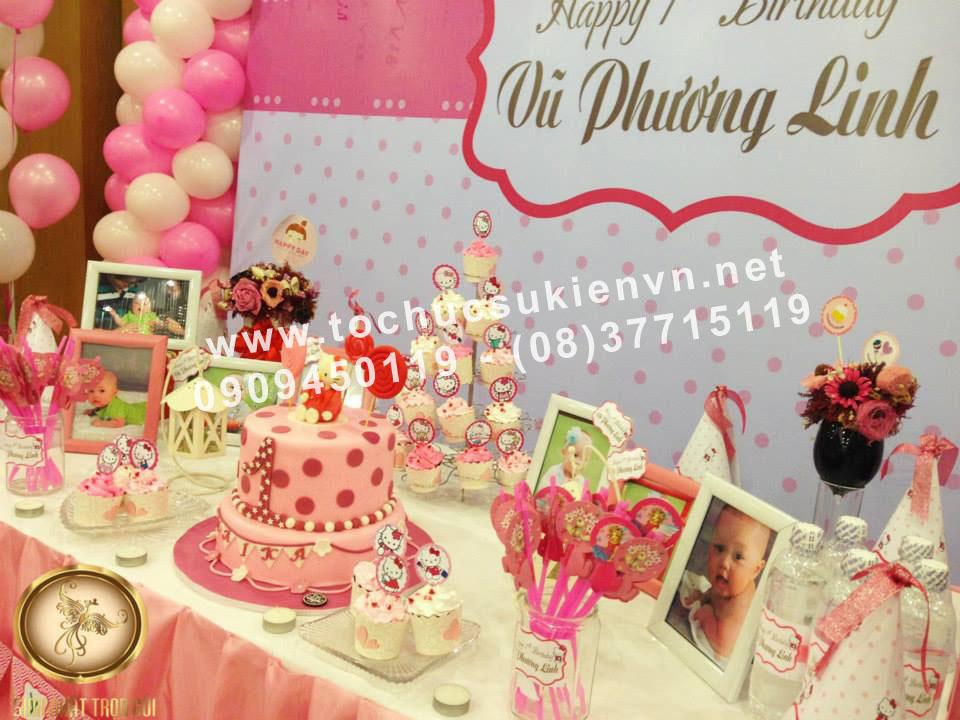 Dịch vụ tổ chức tiệc sinh nhật  Ngàn Thông 4