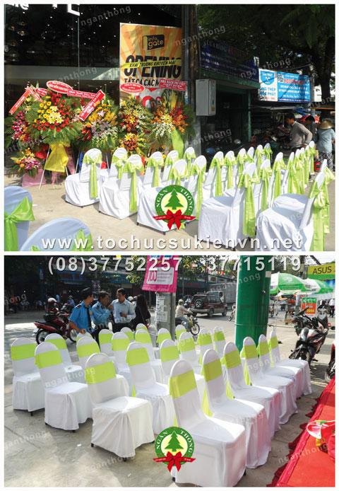 Cho thuê bàn ghế sự kiện TPHCM