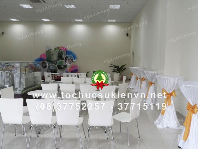 Cho thuê bàn ghế tiệc nhẹ 6