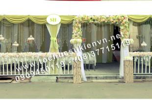 Cho thuê khung rạp đám cưới tại TpHCM 7