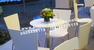 Cho thuê bàn ghế tiệc nhẹ 11