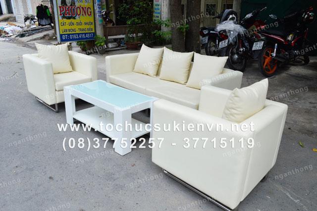 Cho thuê bàn ghế sofa HCM 4