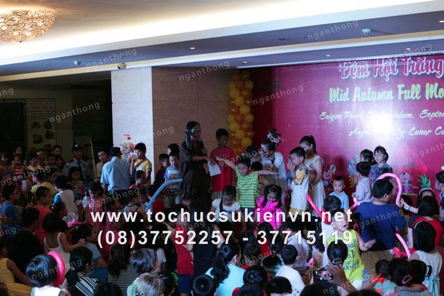 Dịch vụ tổ chức trung thu Sài Gòn Pearl 12