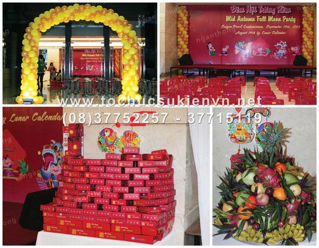 Dịch vụ tổ chức trung thu Sài Gòn Pearl 2