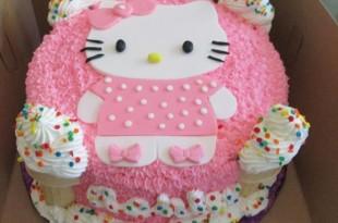Các mẫu bánh sinh nhật dễ thương cho bé gái 4