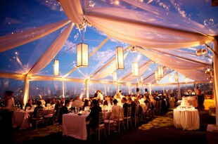 thiết kế tiệc cưới ngoài trời 2