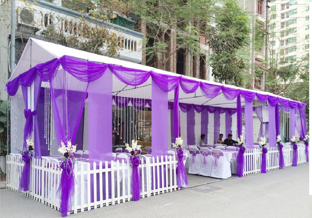 Lưu ý khi thiết kế sân khấu cho tiệc cưới tại gia