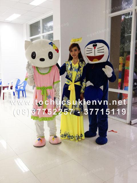 Tổ chức tiệc trung thu ấn tượng cho bé