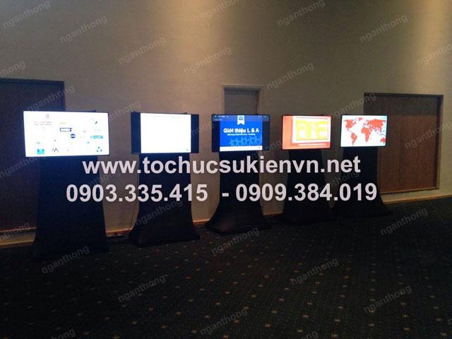 Cho thuê màn hình LCD Ngàn Thông HCM 3