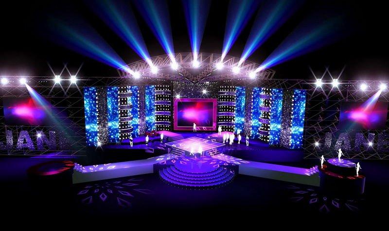 Thiết kế sân khấu cho các chương trình nghệ thuật