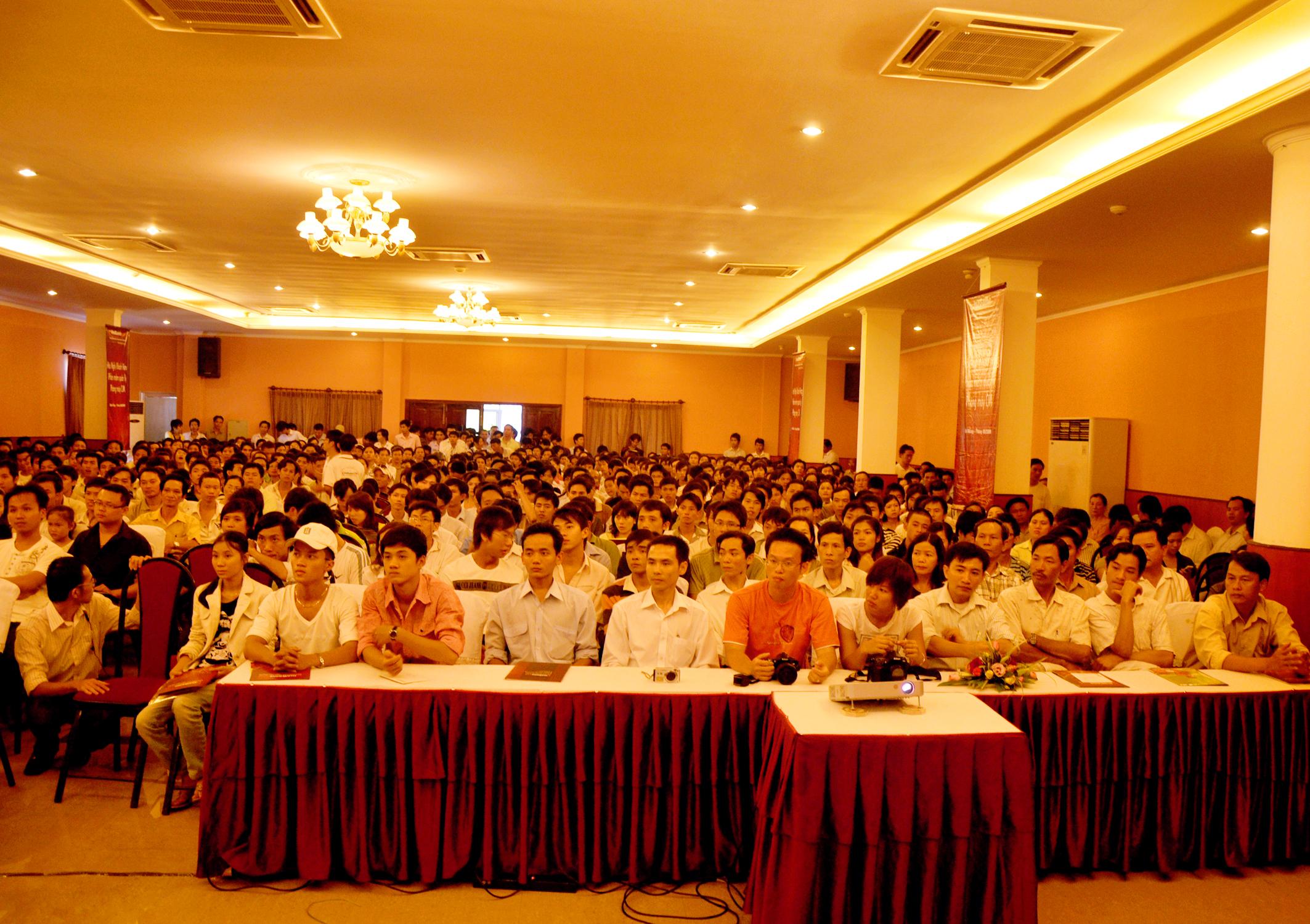 Bí kíp tổ chức hội nghị khách hàng thành công