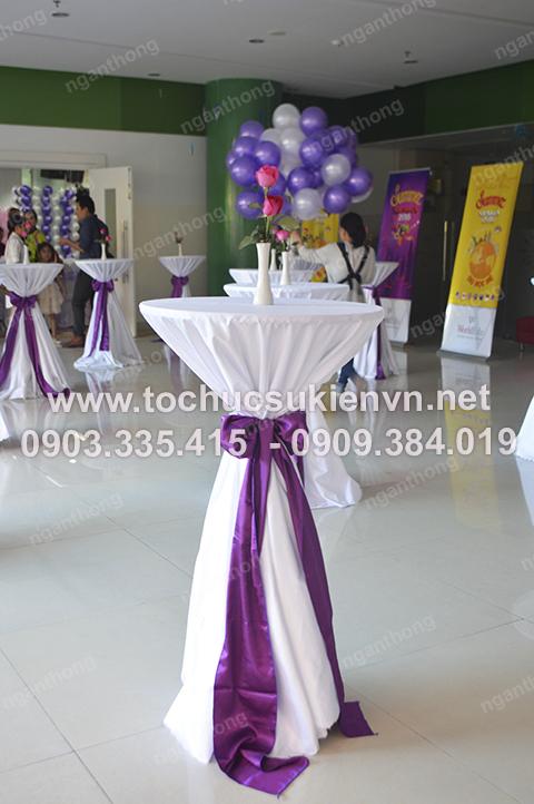 Ngàn Thông - Cho thuê bàn ghế cocktail tổ chức gala họp mặt 2