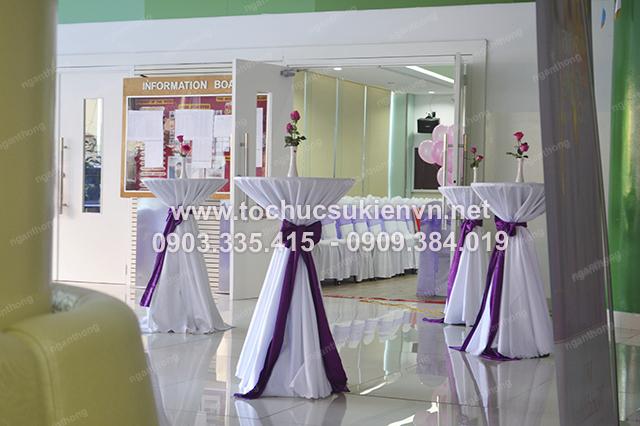 Ngàn Thông - Cho thuê bàn ghế cocktail tổ chức gala họp mặt 3