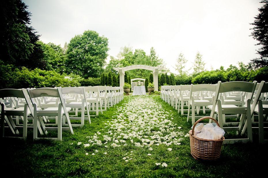 Một số vấn đề khi tổ chức tiệc cưới ngoài trời