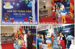 Tổ chức tiệc trung thu cho bé