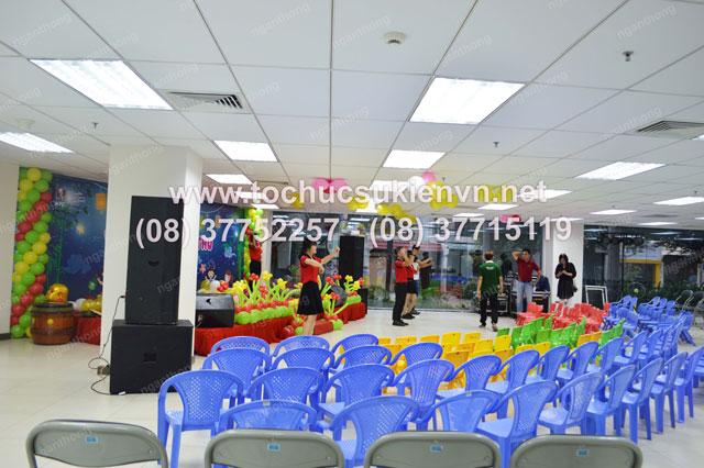 Tổ chức chương trình trung thu cho thiếu nhi chung cư Air Port Plaza 8