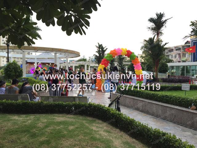 Tổ chức trung thu tại chung cư cao cấp Giai Việt 9