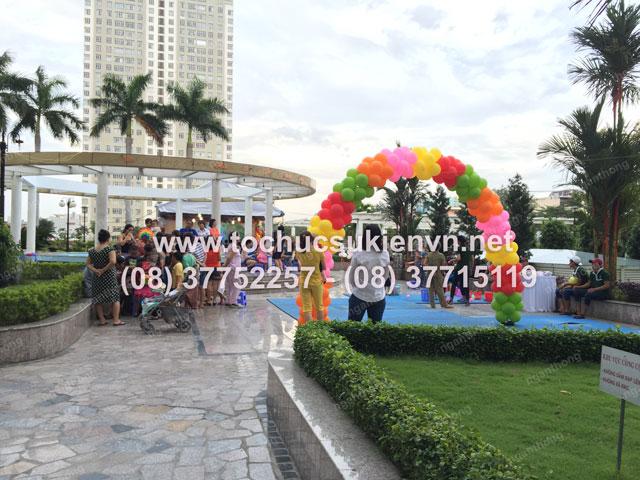 Tổ chức trung thu tại chung cư cao cấp Giai Việt 10