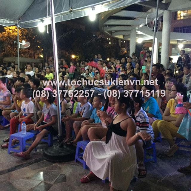 Tổ chức trung thu tại chung cư cao cấp Giai Việt 18