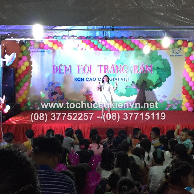 Tổ chức trung thu tại chung cư cao cấp Giai Việt 19