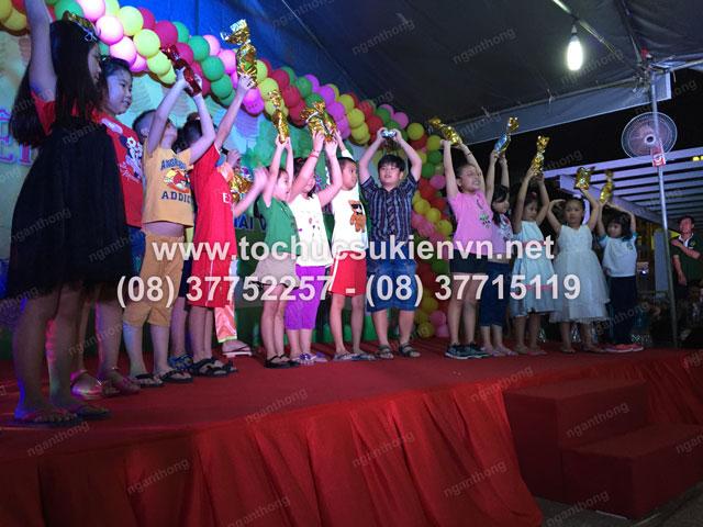 Tổ chức trung thu tại chung cư cao cấp Giai Việt 21