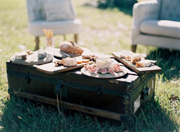 Trang trí tiệc cưới theo phong cách vintage 3