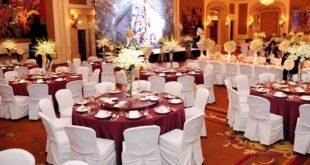 bố trí bàn ghế tiệc cưới