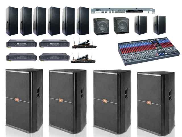 Cho thuê âm thanh chuyên nghiệp giá rẻ