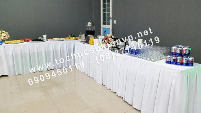 Cho thuê bàn ghế tiệc teabreak